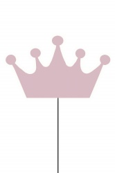 Wall Crown Pink