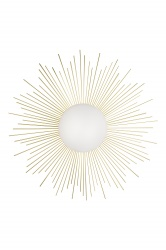 Wall/Plafonieer Soleil Brushed Brass