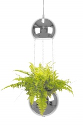 Pendant Mini Planter Chrome