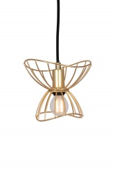 Pendant Ray 16 Brushed Brass