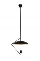 Pendant Undercover 50 Black/Brushed Brass