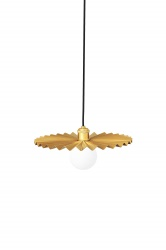 Pendant Omega 35 Brushed Brass