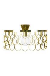 Ceiling lamp Gatsby Brass
