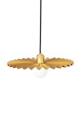 Pendant Omega 50 Brushed Brass