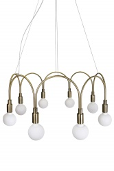 Pendant Arch Brushed Brass