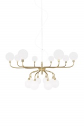 Pendant Mandrino Brushed Brass
