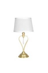 Table Crystal Mini Brushed Brass