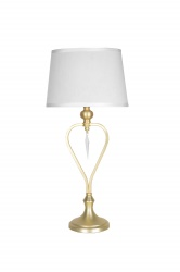 Bord Crystal Brushed brass