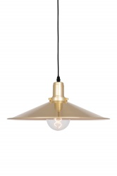 Pendant Disc Brushed Brass