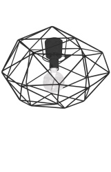 Ceiling lamp Diamond Black