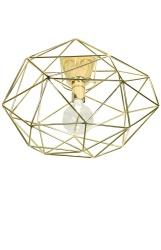 Ceiling lamp Diamond Brass