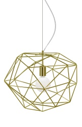 Pendant Diamond Brass