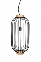 Pendant Berlin Oval Black