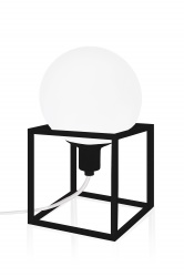 Table Cube Black
