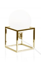 Table Cube Brass
