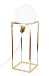 Table Cube XL Brass