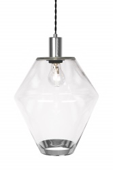 Pendant Gloria Clear / Chrome