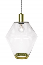 Pendant Gloria Clear / Brass