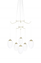 Pendant Divine 6 Brushed Brass
