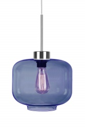 Pendant Ritz Midnight Blue / Chrome