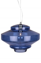Pendant Duomo Midnight Blue / Chrome