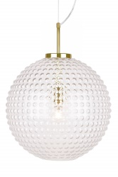 Pendant Spring XL Clear / Brass