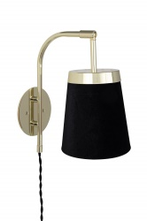 Wall lamp Walther Black