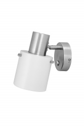 Wall Clark 1 White/Brushed Chrome
