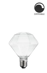 Light Source E27 Diamond Clear Excl. Light Source