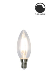 Light Source E14 LED Filament 351-03 Crown Clear 4,2W