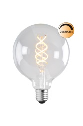 Light source LED Soft Filament dimmable clear 125