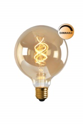 Light source LED Soft Filament dimmable gold 125