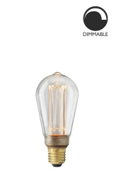 Light Laser LED Soft Filament dimmable clear Unit
