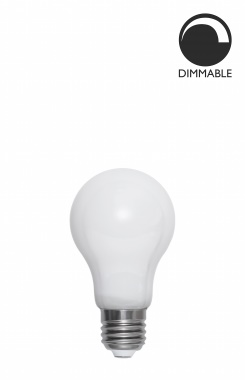 Ljuskälla E27 LED Normal Opal 7,5W