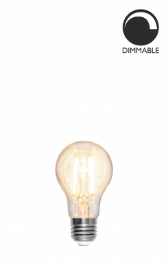 Ljuskälla E27 LED Filament Normal Klar 8W