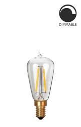 Light Source E14 LED Soft Filament Uniterm Clear 3W