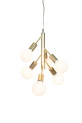 Pendent Comet Brushed Brass