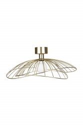 Plafonieer/Wall  Ray Brushed Brass