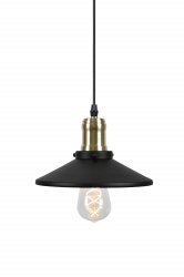 Pendant Disc 3 A clean lamp with influences from the turn of